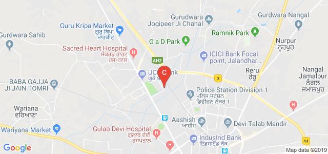 CT Institute of Technology & Research, Greater Kailash, Moti Nagar, Jalandhar, Punjab, India