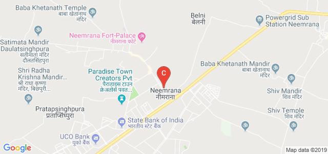 St. Margaret Engineering College, Neemrana, Alwar, Rajasthan, India
