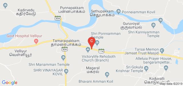Magna College of Engineering, Chennai, Tamil Nadu, India