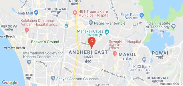 Mahakali Caves Road, Andheri East, Mumbai, Maharashtra 400093, India