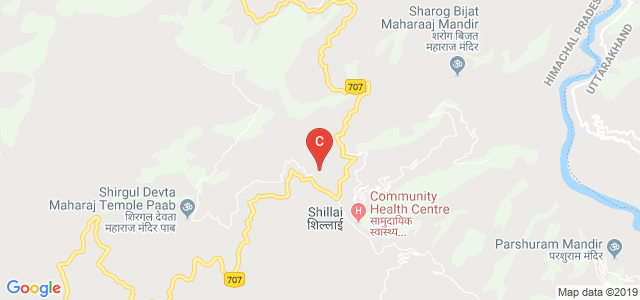 Government Degree College Road, Shillai, Himachal Pradesh, India