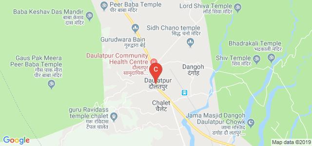 Government College, State Highway 25, Daulatpur, Una, Himachal Pradesh, India