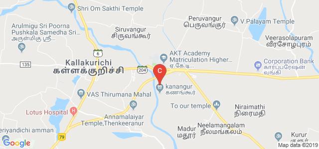 Kallakurichi, Viluppuram, Tamilnadu 606213, India
