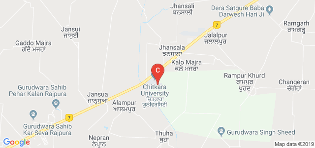 Chitkara College Of Pharmacy, Patiala, Punjab, India