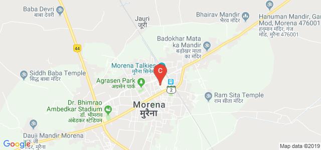 MGM college, Durga Puri Colony, Jiwaji Ganj, Morena, Madhya Pradesh, India