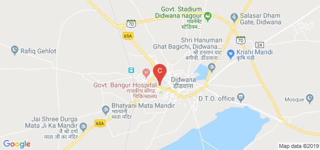 Bangur Government P.G. College, Lalbagh Colony, Adarsh Nagar, Didwana, Rajasthan, India
