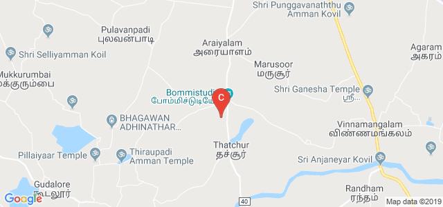 UNIVERSITY COLLEGE OF ENGINEERING ARNI, Major District Road 40, Thatchur, Tamil Nadu, India