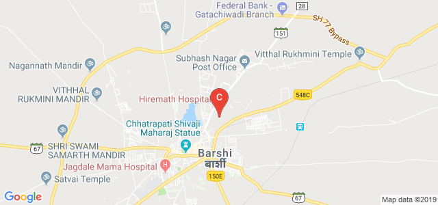 Shriman Bhausaheb Zadbuke Mahavidyalaya, Jawali Plots, Barshi, Maharashtra, India