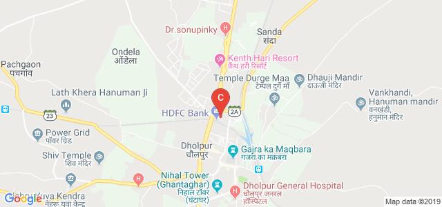 Kamla P.G. College, Girraj Colony, Giri raj Colony, Dholpur, Rajasthan, India
