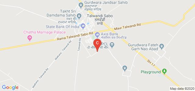 Akal university, Talwandi Sabo, Bathinda, Punjab, India
