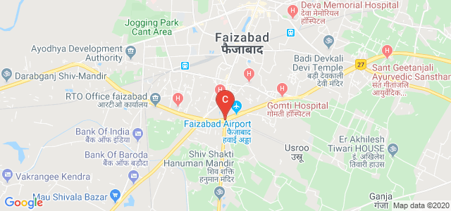 Dr. Ram Manohar Lohia Avadh University, Allahabad Road, Hawai Patti, Avadh University Campus, Faizabad, Uttar Pradesh, India