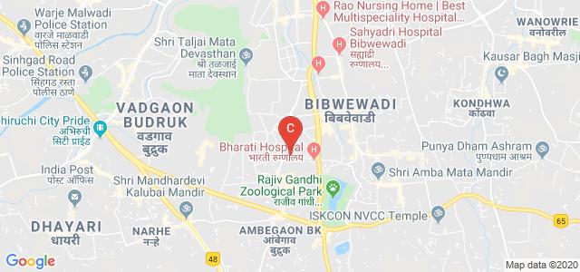 Bharati Vidyapeeth Deemed University Institute Of Hotel Management & Catering Technology, Akshay Nagar, Dhankawadi, Pune, Maharashtra, India