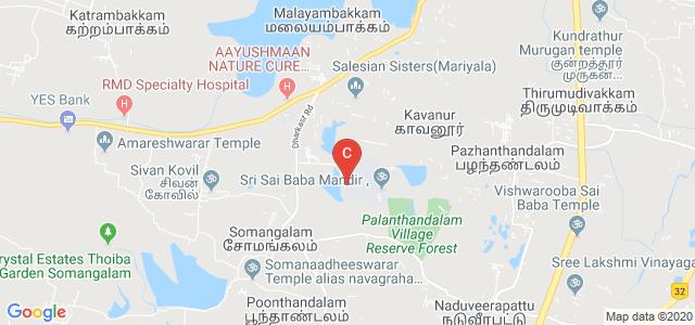 Sri Sairam Institute of Technology, Sairam College Road, Sai Leo Nagar, Tamil Nadu, India