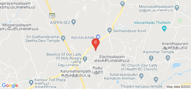 Jansons Institute of Technology Road, Karumathampatti, Coimbatore, Tamil Nadu, India