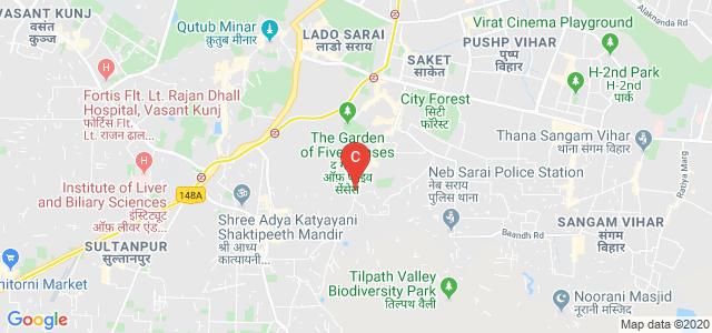 Indira Gandhi National Open University, Mathura Road, Bolck B-1, Mohan Cooperative Industrial Estate, Badarpur, New Delhi, Delhi, India
