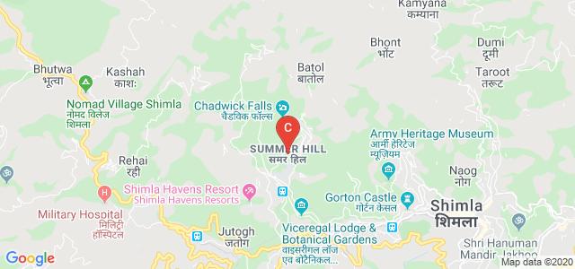Himachal Pradesh University, Summer Hill, Shimla, Himachal Pradesh, India