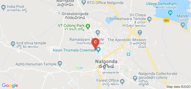 Nagarjuna Government College(Autonomous), Hyderabad Road, Sri Lakshmi Nagar Colony, Housing Board Colony, Nalgonda, Nalgonda, Telangana, India