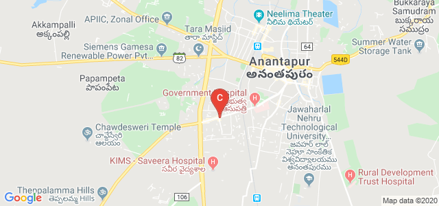 Nalanda Degree College, Ram Nagar, Maruthi Nagar, Ananthapuramu, Andhra Pradesh, India