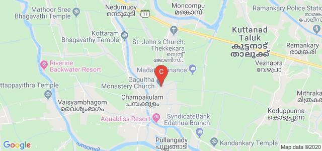 Fr.Porukara CMI College of Advanced Studies, Alappuzha, Kerala, India