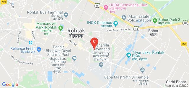 Maharani Kishori Jat Kanya College, Model Town, Rohtak, Haryana, India