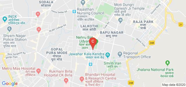 Rajasthan Swayat Shasan Mahavidyalaya, Gandhi Nagar, Jaipur, Rajasthan, India