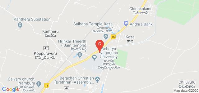ACHARYA Nagarjuna University, Nagarjuna Nagar, Guntur, Andhra Pradesh, India