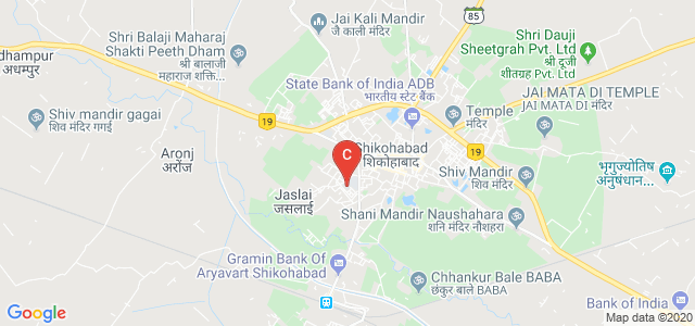 Paliwal Degree College, Shikohabad, MDR 77W, Shambhunagar, Shikohabad, Uttar Pradesh, India