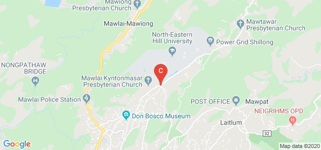 North Eastern Hill University, Shillong, Meghalaya, India
