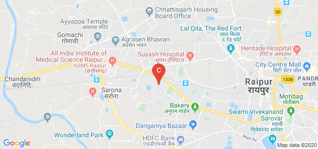 Pt. Ravishankar Shukla University, Great Eastern Rd, Amanaka, Raipur, Chhattisgarh, India