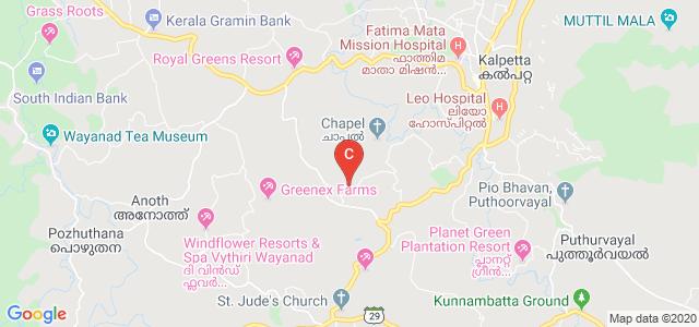 NMSM Government College, Puzhamudy-Vellaram Kunnu Road, Silver Hills, Kalpetta, Wayanad, Kerala, India