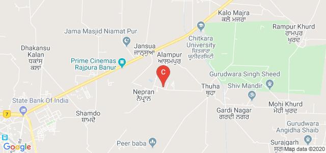 Aryans College of Pharmacy, Rajpura, Patiala, Punjab, India