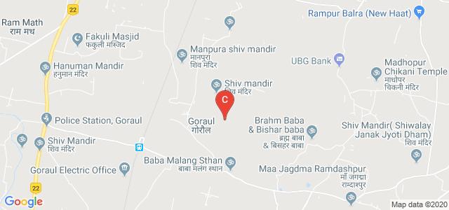 Goraul, Vaishali, Bihar 844118, India