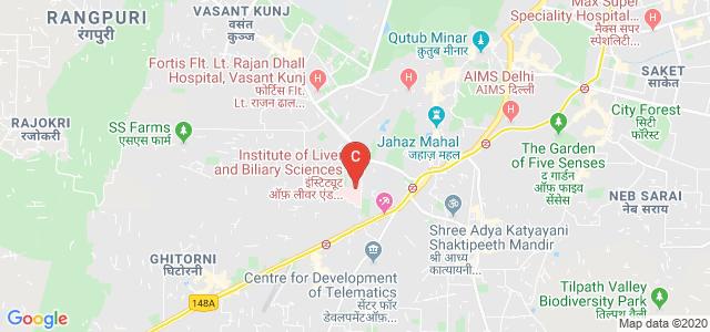 Institute of Liver and Biliary Sciences, Vasant Kunj, New Delhi, Delhi, India