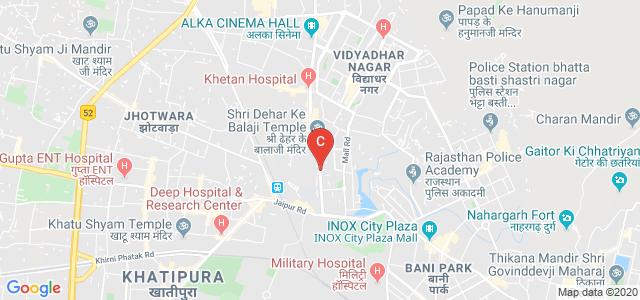 Shri Bhawani Niketan Mahila Mahavidyalaya, Maharao Shekha Circle (Chomu Pulia), Sikar Road, Om Shiv Colony, Dahar Ka Balaji, Jaipur, Rajasthan, India