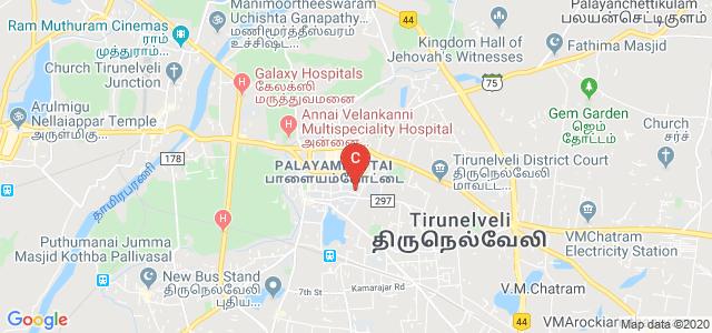 St.Xavier's College, High Ground Road, Palayamkottai, Tirunelveli, Tamil Nadu, India