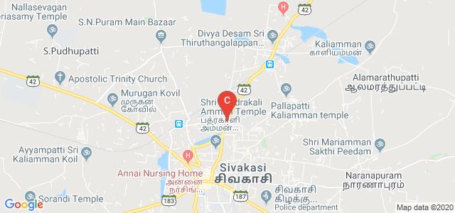SFR College For Women, National Colony, Kamarajapuram Colony, Sivakasi, Tamil Nadu, India