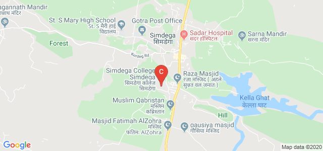 Simdega College Simdega, Main Road, Simdega, Jharkhand, India