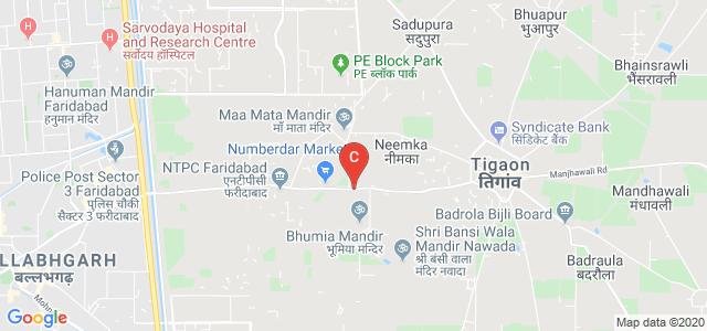 RAJA JAIT SINGH GOVERNMENT POLYTECHNIC, Tigaon Road, Sector 72, Neemka, Faridabad, Haryana, India