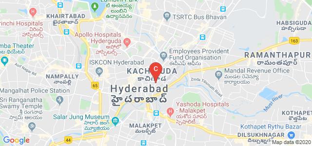 Kachiguda, Chappal Bazar, Hyderabad, Telangana 500027, India
