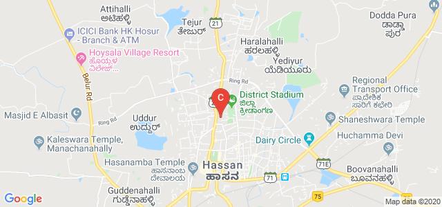 Government Science College, Hassan, Rangoli Halla, Hassan, Karnataka, India