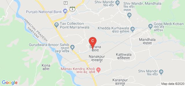 Government Polytechnic Nanakpur, Panchkula, Haryana, India