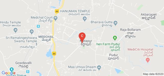 Medchal-Pudur-Shamirpet Road, Medchal, Kistapur, Telangana, India