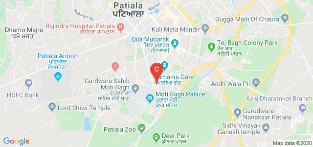 Government Mohindra College, Lower Mall Road, Lower Mall, Patiala, Punjab, India