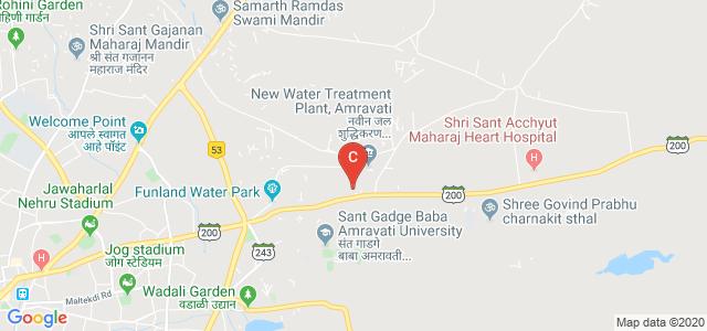 Mardi Road, Sant Gadge Baba Amravati University, Amravati, Maharashtra 444602, India