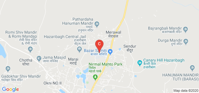 Vinoba Bhave University Road, Sindoor, Hazaribagh, Jharkhand, India