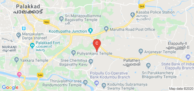 Government Polytechnic College,Palakkad, Kallingal Road, Kodumba, Palakkad, Kerala, India