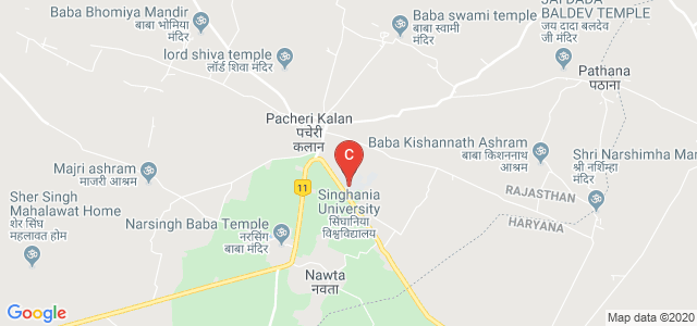 Singhania University, Pacheri Bari, Jhunjhunu, Rajasthan, India