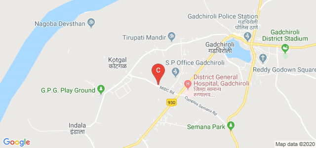 Gondwana University, MIDC Road, Police Quarters, Gadchiroli, Maharashtra, India