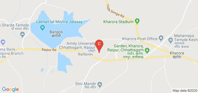Amity University, Raipur, Chhattisgarh, Kharora, Chhattisgarh, India