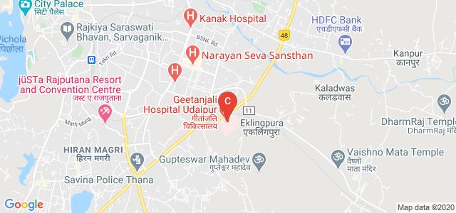 Geetanjali Medical College and Hospital, Manva Kheda, Udaipur, Rajasthan, India